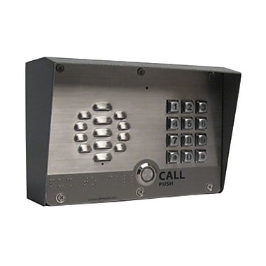 CyberData 011214 VoIP Outdoor Intercom With Keypad