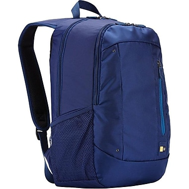 Case Logic WMBP-115INK Laptop Computer Backpack, Blue