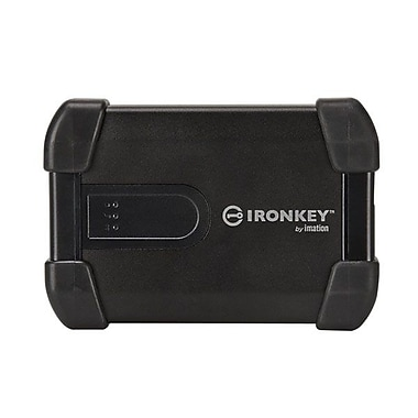 Ironkey™ H80 1TB USB 2.0 Portable Hard Drive (Black)