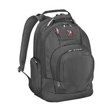 TRG 64081201 DIGITIZE Deluxe Computer Backpack For 16inch iPad, Tablet and Notebook, Black