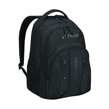 TRG Wenger® UPLOAD 16inch Computer Backpack, Black