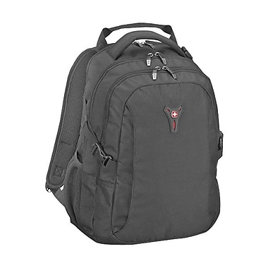 TRG 64081101 SIDEBAR Deluxe Computer Backpack For 16inch Notebook, Tablet and Digital Text, Black