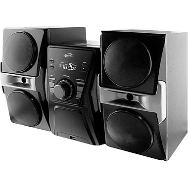 GPX® iLive™ J182B Home Stereo System With CD Player/FM Radio