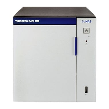 Tandberg Data BizNAS™ D408 Network Attached Desktop Server, 4- Bay, 4x2TB HDD/8TB