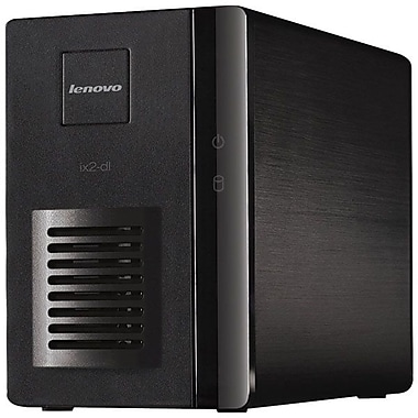 Lenovo Iomega Serial ATA Network Storage Server, 2-Bay 2x2TB