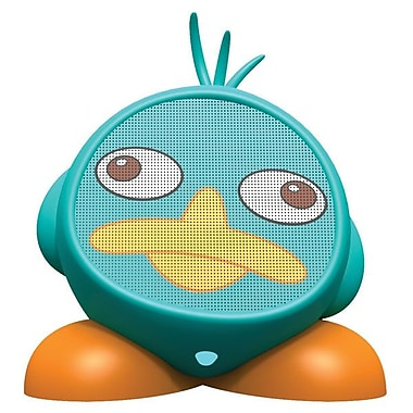 SDI Technologies DF-M66 Rechargeable Character Speaker, Phineas & Ferb Speaker