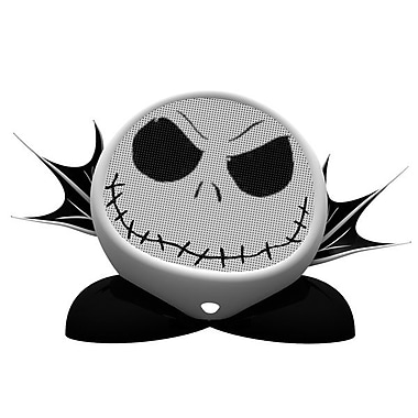 SDI Technologies DJ-M66 Rechargeable Character Speaker, Jack Skellington