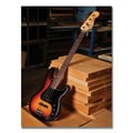 Trademark Fine Art Fender 'Bass Workshop' Canvas Art