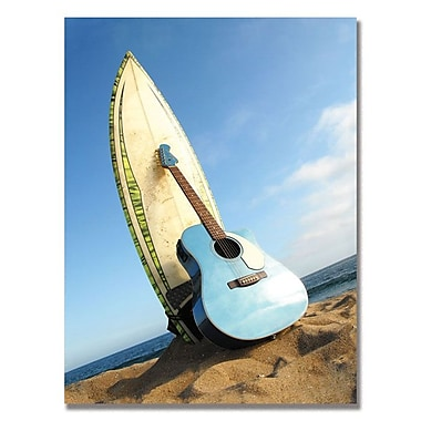 Trademark Fine Art Fender 'Acoustic Surf' Canvas Art