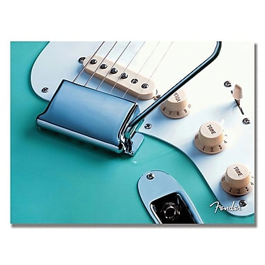 Trademark Fine Art Fender 'Stratocaster' Canvas Art