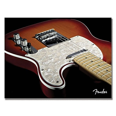 Trademark Fine Art Fender 'Telecaster' Canvas Art