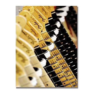 Trademark Fine Art Fender 'Headstock II' Canvas Art