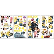 RoomMates DespiCable Me 2 Peel and Stick Wall Decal, Yellow/Blue