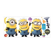 RoomMates DespiCable Me 2 Minions Giant Peel and Stick Wall Decal, Yellow/Blue