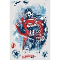 RoomMates Superman Man of Steel Distressed Peel and Stick Giant Wall Decal
