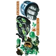 RoomMates Skylanders Giants Crusher and Prism Break Peel and Stick Giant Wall Decal, Green/Blue
