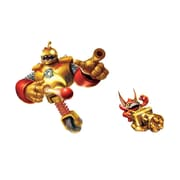 RoomMates Skylanders Giants Bouncer and Trigger Happy Peel and Stick Giant Wall Decal, Gold/Red
