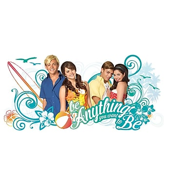 RoomMates Teen Beach Movie be Anything You Want to be Peel and Stick Giant Wall Decal