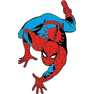 RoomMates Marvel Classic Spiderman Peel and Stick Giant Wall Decal 277188