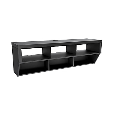 Prepac™ Series 9 Designer Collection 58in. Wide Flat Panel Plasma /LCD TV Console, Black