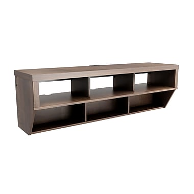 Prepac™ Series 9 Designer Collection 58in. Wide Flat Panel Plasma /LCD TV Console, Espresso