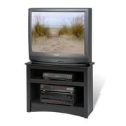 "Prepac™ Sonoma 32"" Corner Flat Panel LCD/CRT TV Stand, Black"