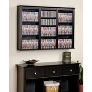 Prepac™ Triple Wall Mounted Storage, Black
