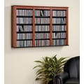 Prepac™ Triple Wall Mounted Storage, Cherry and Black