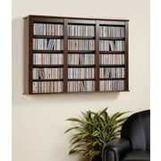 Prepac™ Triple Wall Mounted Storage, Espresso