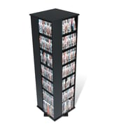 Prepac™ Large 4-Sided Spinning Tower, Black
