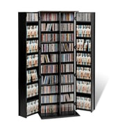 Prepac™ Grande Locking Media Storage Cabinet With Shaker Doors, Black