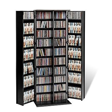 Prepac™ Grande Locking Media Storage Cabinet, Black