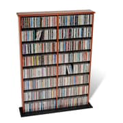 Prepac™ Double Width Wall Storage, Cherry and Black