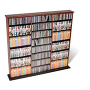 Prepac™ Triple Width Wall Storage, Cherry and Black