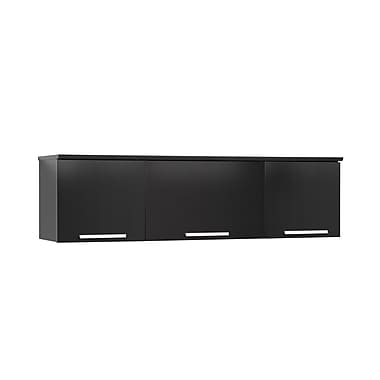 Prepac™ Coal Harbor Wall Mounted Hutch, 36in. x 11.5in., Black