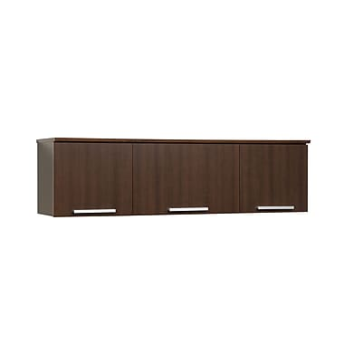 Prepac™ Coal Harbor Wall Mounted Hutch, 36in. x 11.5in., Espresso