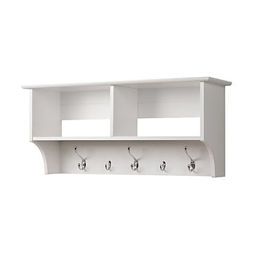 Prepac™ Wide Hanging Entryway Shelf, 36in. x 11.5in., White