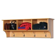 Prepac™ Sonoma Entryway Cubbie Shelf, 48 x 11.5, Maple