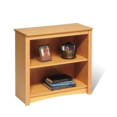 Prepac™ 2 Shelf Bookcase, Maple