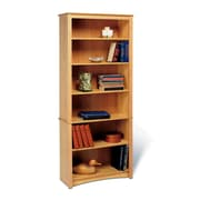 Prepac™ 6 Shelf Bookcase, Maple