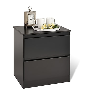 Prepac™ 21.5in. Avanti 2 Drawer Nightstands