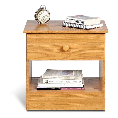 Prepac™ 19.75in. Edenvale Drawer Nightstand, Oak