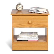 "Prepac™ 19.75"" Edenvale Drawer Nightstand, Oak"