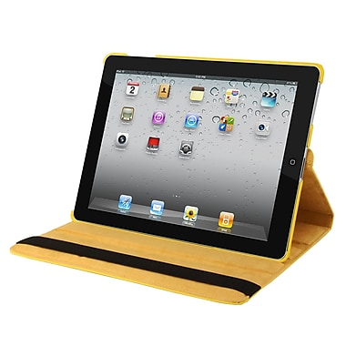Natico 60-IM360-YW Faux Leather Folio Case for Apple iPad Mini, Yellow