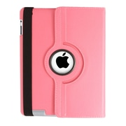 Natico 60-I360-DPK Faux Leather Folio Case for Apple iPad, Dark Pink