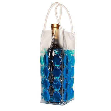 Natico 4-Sided Wine Cooler Bag, Blue
