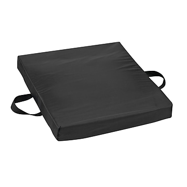 DMI® 16in. x 20in. x 2in. Gel-Foam Flotation Cushion, Nylon Cover, Nylon Black