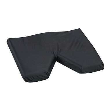 Briggs Healthcare - DMI 513-7956-0200 Foam Contoured Coccyx Cushion with Oxford Nylon Cover, Black