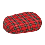 "DMI® 16"" x 13"" x 3"" Foam Convoluted Ring Cushion, Polyester/Cotton Cover, Plaid"