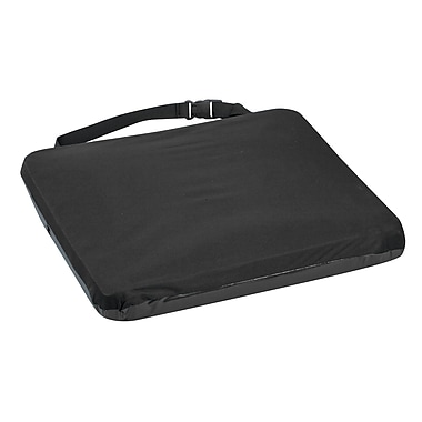 DMI® Duro-Gel™ II 16in. x 18in. x 2 1/2in. Gel-Foam Cushion, Velour Cover, Black